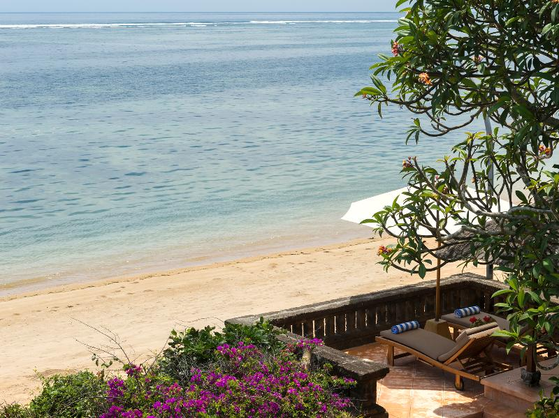 Villa Batujimbar - Private raised beachside sun loungers - Villa Batujimbar - an elite haven - Sanur - rentals