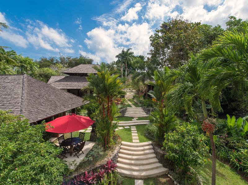 Pangi Gita - Aerial above pool - Villa Pangi Gita - an elite haven - Canggu - rentals