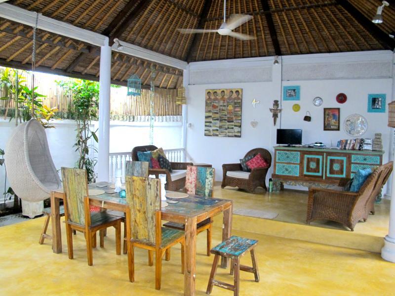 Spacious Tropical Garden/Pool Villa 66Beach locale - Image 1 - Legian - rentals