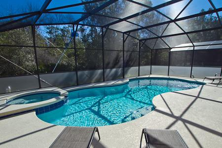Private pool with FREE SPA HEAT - Magical Oasis-5BR-FreeSPAheat/GameRm/BBQ/Luxury - Orlando - rentals