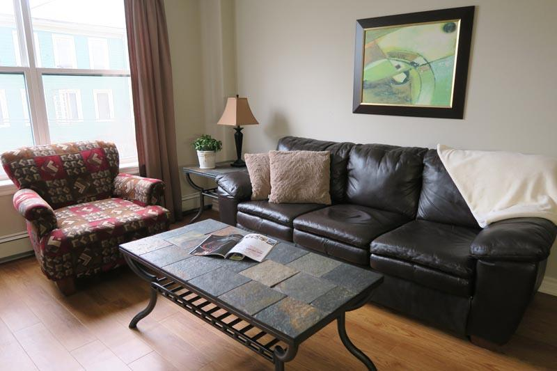 Living Room - View of Shops and Citadel Hill - Halifax - rentals