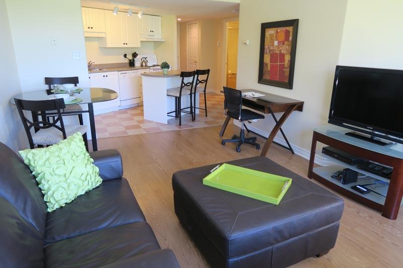 Living Room 1 - Corner Suite with Citadel View - Halifax - rentals
