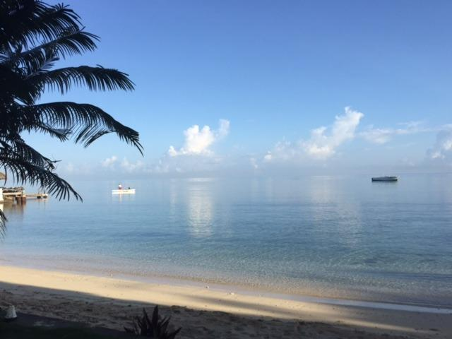 7 am at Eden Sands the water is flat - Ocho Rios Beachfront Villa - Ocho Rios - rentals