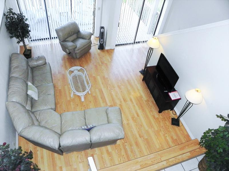 Leather Sectional with Queen Sofa bed - Hacienda del Mar #1- 1/2 Block from beach- WiFi - South Padre Island - rentals
