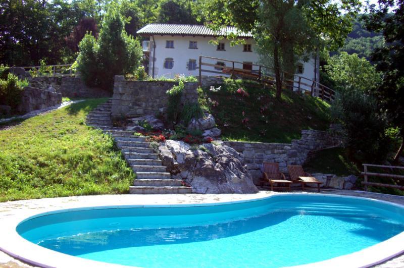 Villa Bella - A Hidden Gem of Luxury - Pool, Sauna - Image 1 - Most na Soci - rentals