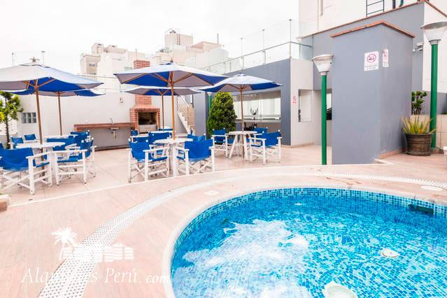 Nice condominium with Pool - Image 1 - Lima - rentals
