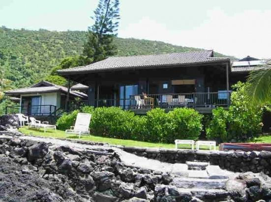 Hale Naia- Kayaks, OCEANFRONT, Best Snorkeling!! - Image 1 - Captain Cook - rentals