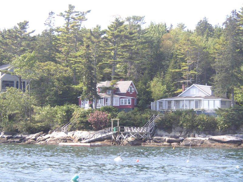 PINE CLIFF DWELLER| SOUTHPORT ISLAND | AMAZING OCEAN VIEWS| PRIVATE DOCK & FLOAT| COVERED & OPEN DECKS | ISLAND LIVING - Image 1 - Boothbay - rentals