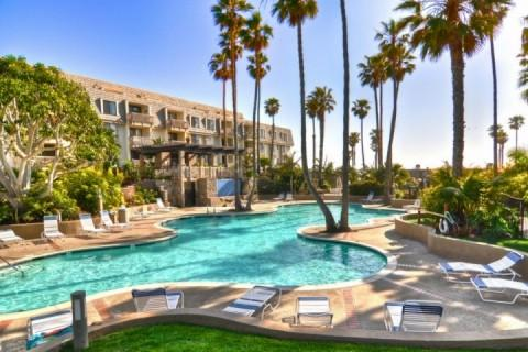 Community Pool - Tropical Paradise 2 (3525524) - Oceanside - rentals