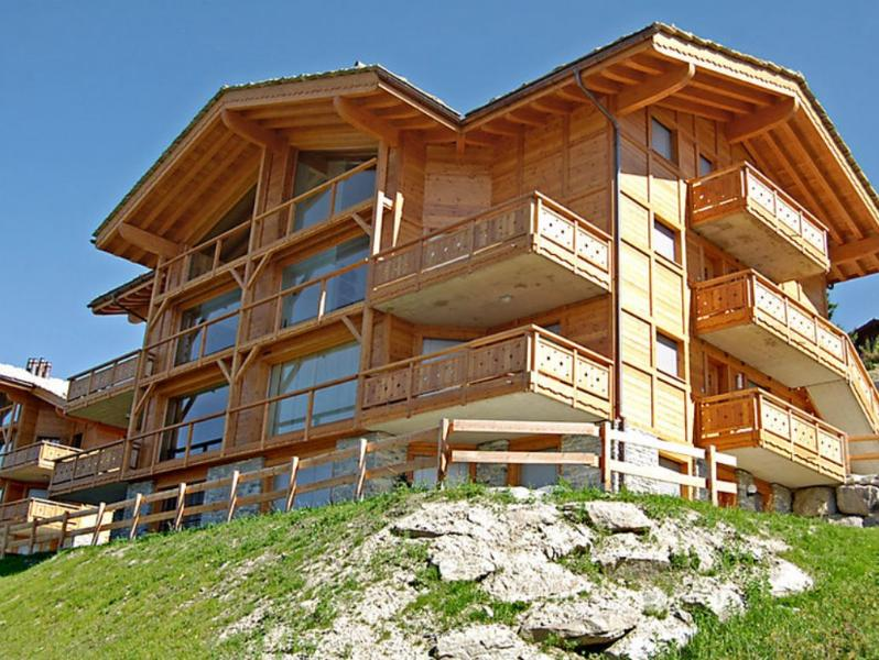 Suisse Apartment with Wide Windows and Magical Snow-Capped Mountain Views - Le Bonhomme - Image 1 - Nendaz - rentals
