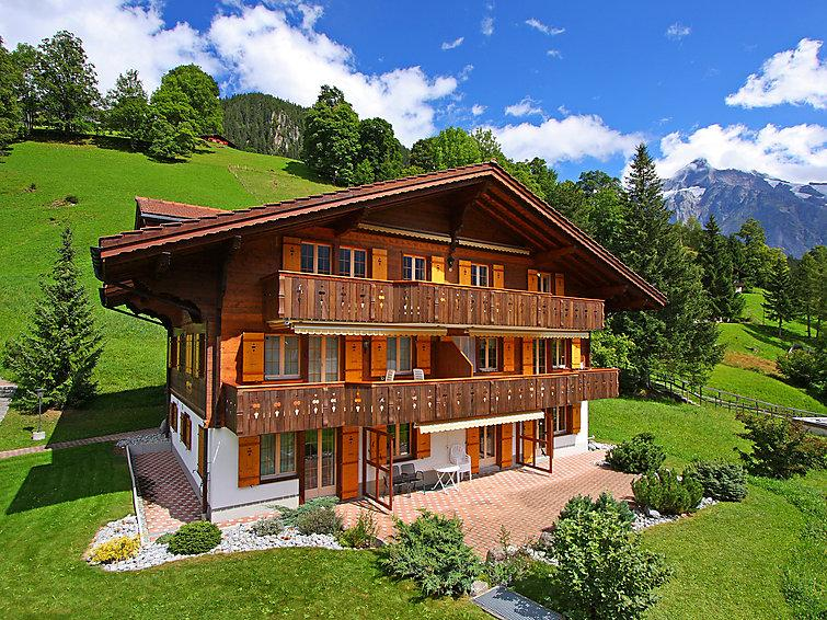 3 bedroom Apartment in Grindelwald, Bernese Oberland, Switzerland : ref 2297277 - Image 1 - Grindelwald - rentals