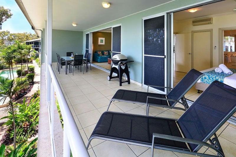 Balcony - Blue Water Views 05 - Hamilton Island - rentals