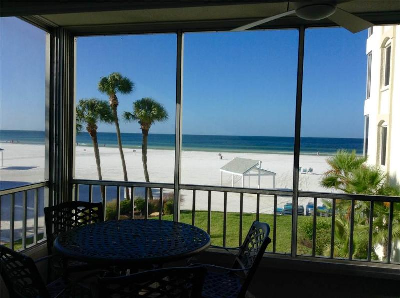 Wonderful condo, slps 6 w/ direct gulf view - 4 North - Image 1 - Siesta Key - rentals