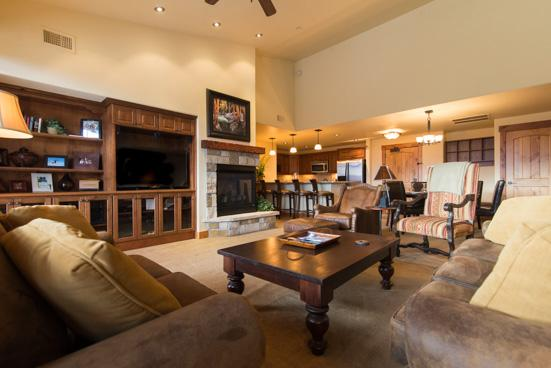 Entire Living Room - 5301 Emerald Lodge, Trappeurs - Steamboat Springs - rentals