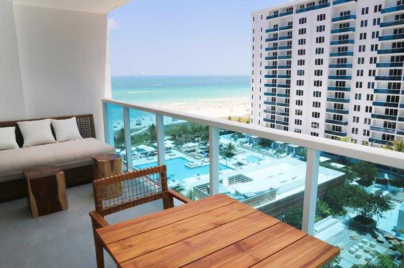 Ocean/Pool Balcony view Luxury Residence suite 5* Resort 1 Hotel and Homes. - Image 1 - Miami Beach - rentals