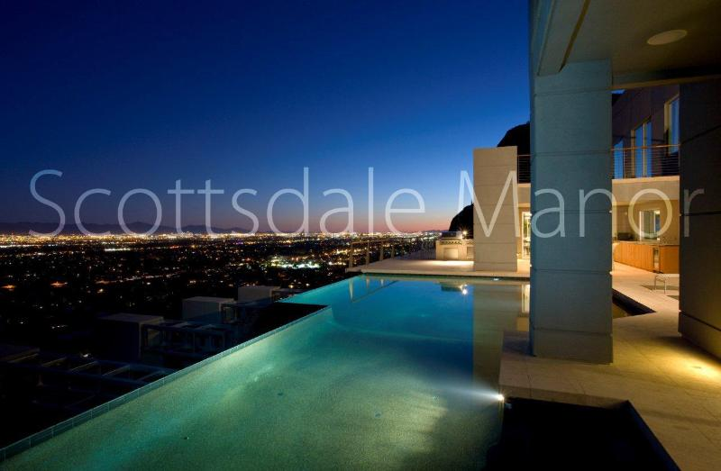10 Million Dollar Mansion on Camelback- Private Resort, 8 bedrooms with Theater! - Image 1 - Scottsdale - rentals