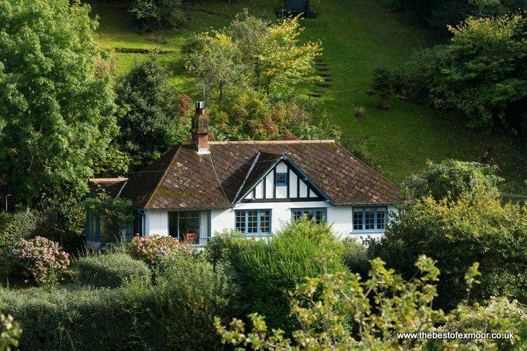 Halsecombe Cottage, Porlock - Delightful situation of the edge of Porlock - stunning views - Image 1 - Porlock - rentals