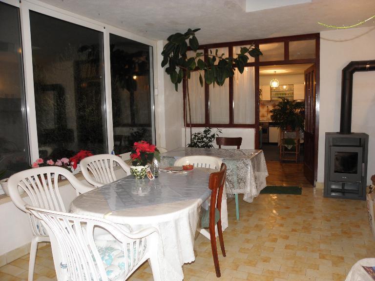 H(6): indoor terrace - Marija H(6) - Cove Batalaza (Ugljan) - Susica - rentals