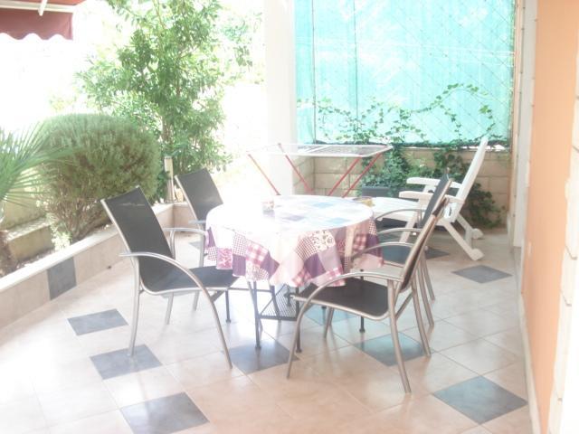 A2(2+2): terrace - 5056 A2(2+2) - Seget Vranjica - Seget Vranjica - rentals