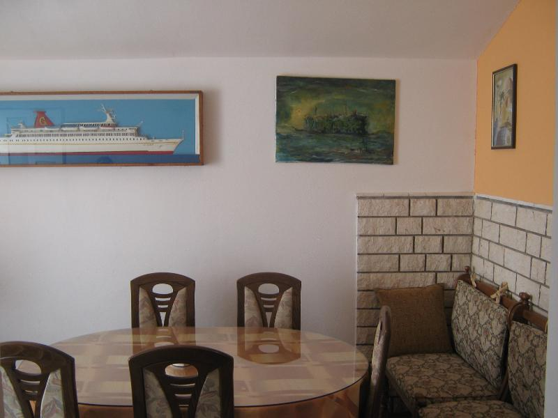 A1(4+1): dining room - 0812ARBA A1(4+1) - Mastrinka - Mastrinka - rentals