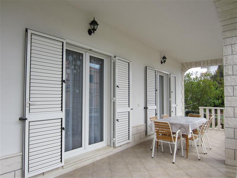 H(4+2): terrace - 5621 H(4+2) - Seget Vranjica - Seget Vranjica - rentals