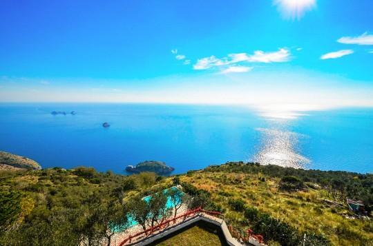VILLA ULISSE (NEW) - SORRENTO PENINSULA - Sant'Agata Sui Due Golfi - Image 1 - Italy - rentals