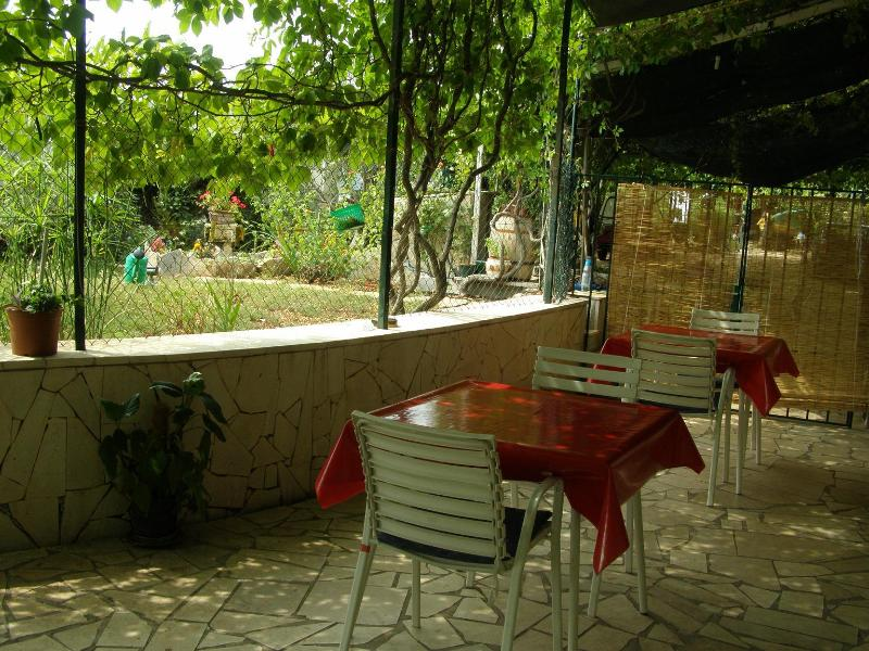 SA(2): common terrace - 00907SEGV SA(2) - Seget Vranjica - Seget Vranjica - rentals
