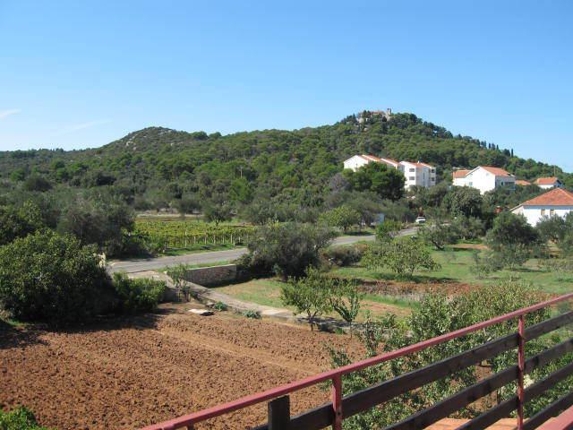 A3(2+1): terrace view - 00520TKON A3(2+1) - Tkon - Tkon - rentals