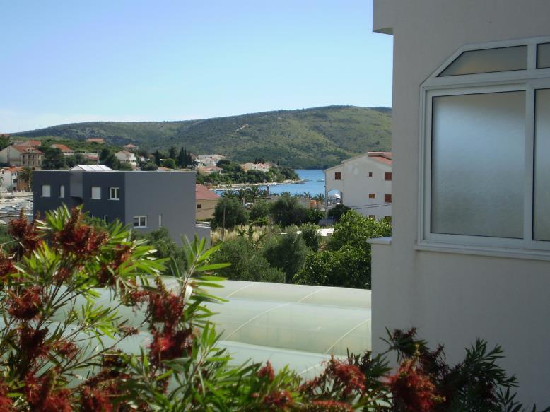 A1(2+2): terrace view - 35060 A1(2+2) - Seget Vranjica - Seget Vranjica - rentals