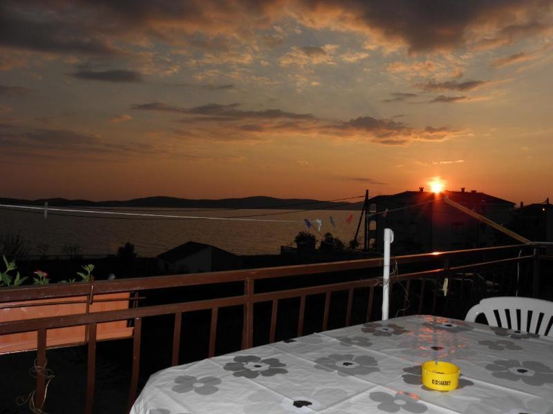 SA4(2+1): terrace view - 2452 SA4(2+1) - Bibinje - Bibinje - rentals