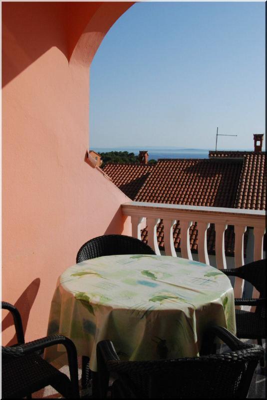 A3(4): terrace - 2942 A3(4) - Banjol - Banjol - rentals