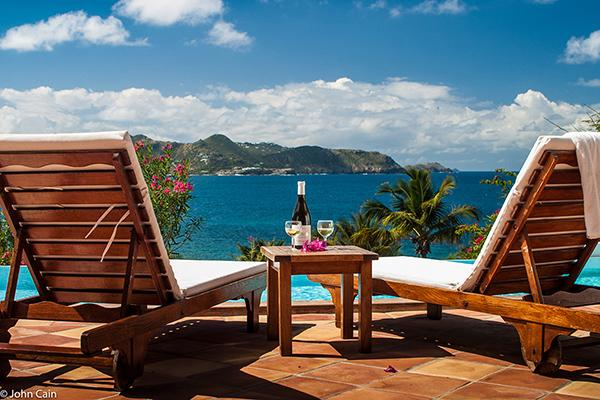 Clean & Comfortable with sunset views over St. Barts WV JCC - Image 1 - Saint Barthelemy - rentals