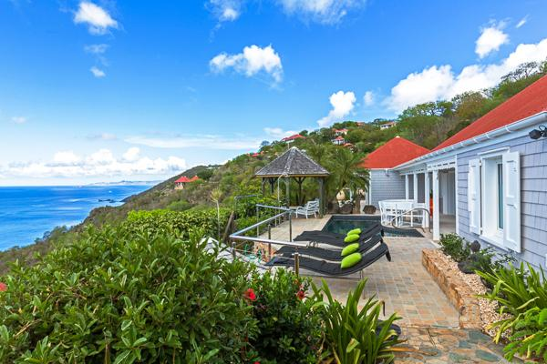 Peaceful and private villa on the hillside WV GDF - Image 1 - Colombier - rentals