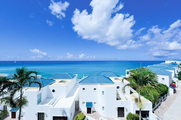 Ocean view villa, steps from Cupecoy Beach. C LNA - Image 1 - Cupecoy - rentals