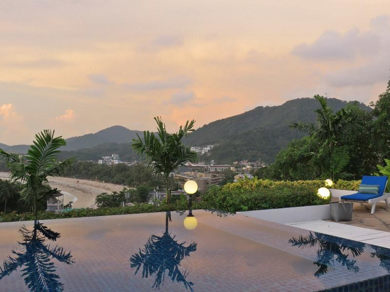 Breathtaking Ocean, Beach, And Mountain Views From Rooftop Terrace - Kata  3 Bedroom Private Pool Walk To Beach - Kata - rentals