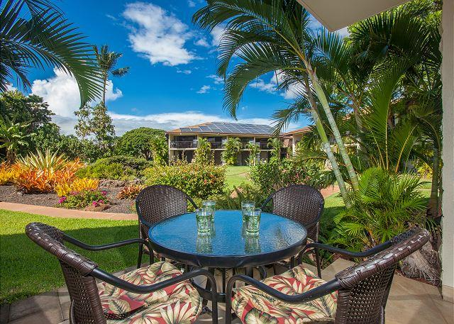 Waiohuli Beach Hale #D-117 Oceanfront 1Bd/1Ba Beautifully Remodeled Sleeps 2 - Image 1 - Kihei - rentals