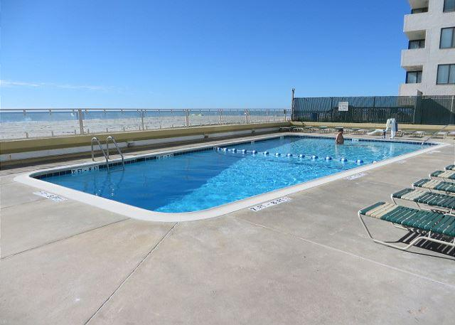 Cozy, Family Friendly, Stunning Oceanfront Brigadune Vacation Unit on Shore Drive - Image 1 - Myrtle Beach - rentals