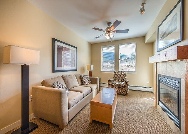 Walk to the slopes from this Founders Point one bedroom. - Image 1 - Winter Park - rentals