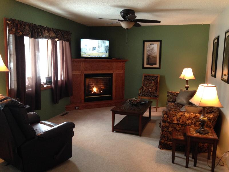 Cozy up to the fire in the comfortable living room - 3BR home close to Ely at an affrodable price! - Babbitt - rentals