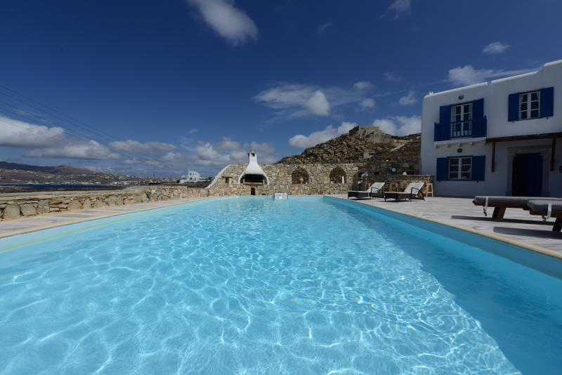 Villa In Mykonos With Magnificent Sea View - Image 1 - Mykonos - rentals