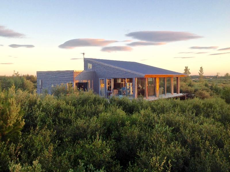 The house in a beautiful birch forrest  - Luxury, Modern House, Hot Tub, Winter / Summer - Borgarnes - rentals