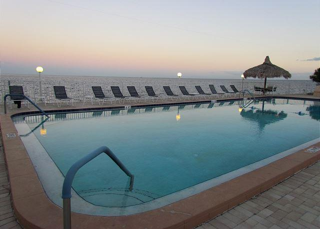 Pool overlooks Tampa Bay - Perfect Paradise at Pinellas Point for An April Spring Break - Saint Petersburg - rentals
