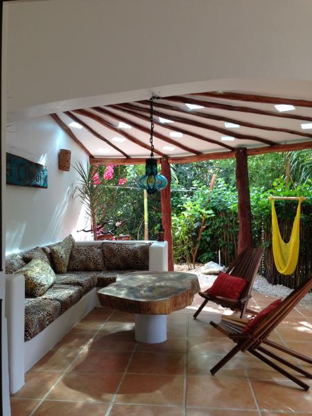 A glass of wine, a great book-life is good! - Casa Conga - a private Tropical getaway - Tulum - rentals