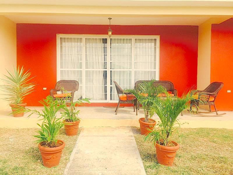 Outside Porch - Terrace Villa , Champ Fleur Heights - Port of Spain - rentals