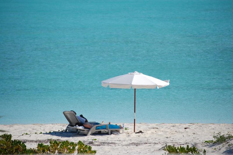 Beach - Villa Karana Penthouse 3-Bedroom - Long Bay Beach - rentals