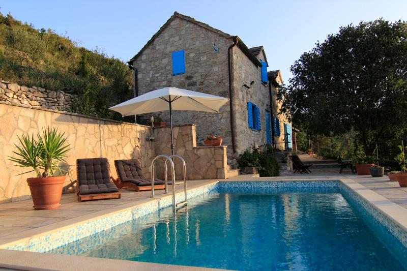 Villa Dol - 200 Years Charming Old Stone Villa; Brac Island - Postira - rentals