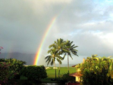 Panoramic Bali Hai, Hanalei Bay, Ocean, Sunset and Rainbow Views from Home!! - 5BR + Bonus Rm Luxury -Bali Hai/Ocean/Golf Views! - Princeville - rentals