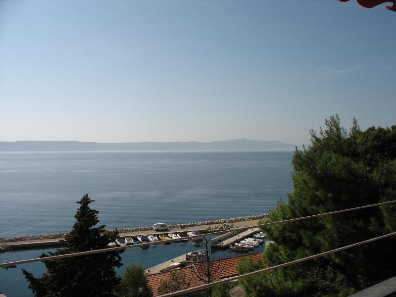 A3(6+2): terrace view - 1899 A3(6+2) - Zivogosce - Zivogosce - rentals