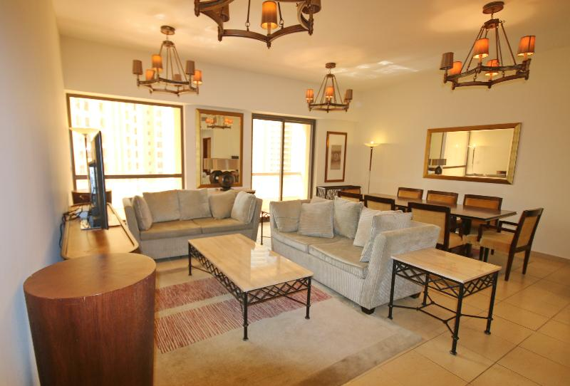Designer 2 Bed Beach JBR apartment in Dubai Marina - Image 1 - Dubai - rentals