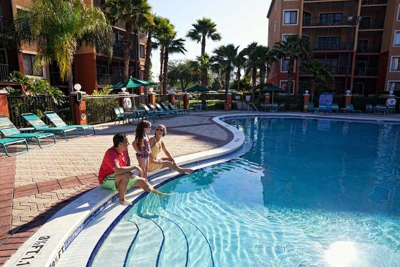 One of the many gorgeous spralwing outdoor swimming pools awaits you. - Orlando Vacation Villas- Westgate Town Center! - Kissimmee - rentals
